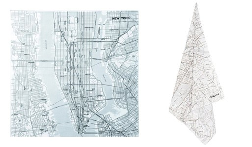 Map Handkerchief