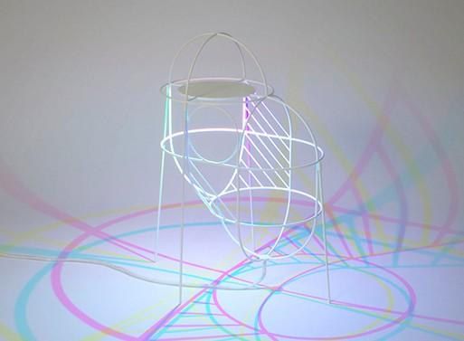 CMYK Up Lamp