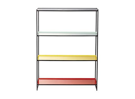 Color Block Bookcase