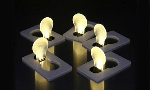 Credit Card Lightbulb