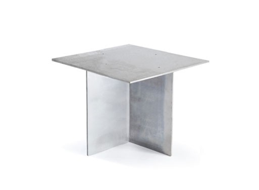 Anodised Side Table by Max Lamb