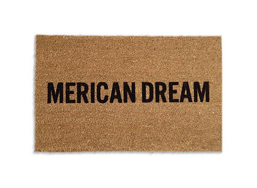 """Merican Dream"" Doormat"