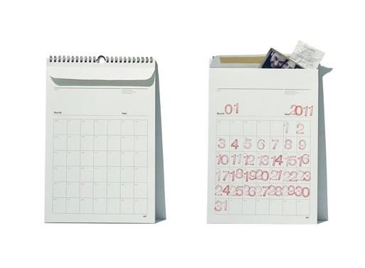 Envelope Calendar by pigr