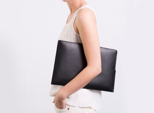 Everlane Leather Laptop Case