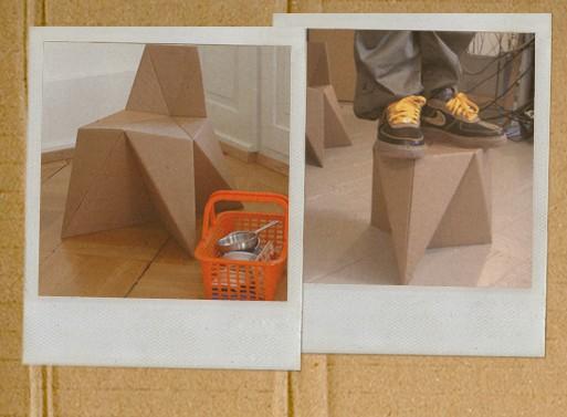 Foldschool DIY Cardboard Furniture