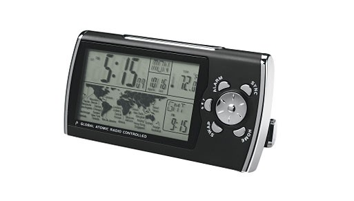 Global Travel Alarm Clock