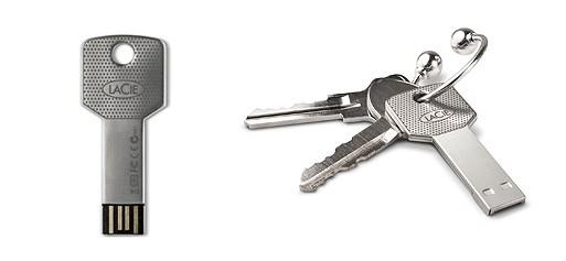 'I Am A Key' 8GB USB flash drive