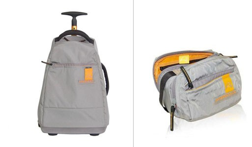 Isi Trolley and Toiletry Bag