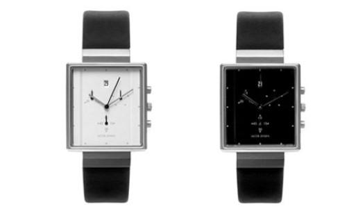 Jacob Jensen Square Chronograph Watch