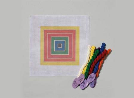 The Mesh Canvas: Frank Stella