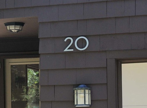 House Numbers Mailboxes Better Living Through Design