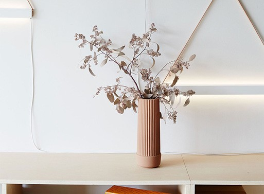 Pleated Planter and Vase