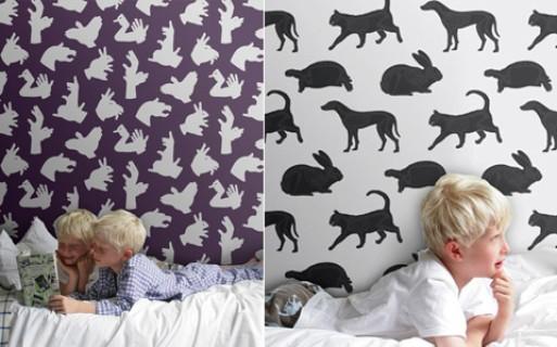 PaperBoy wallpaper & fabric