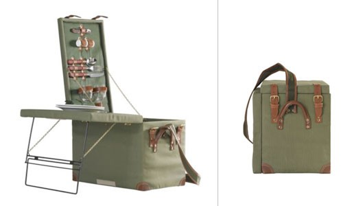 Picnic Trunk with Table