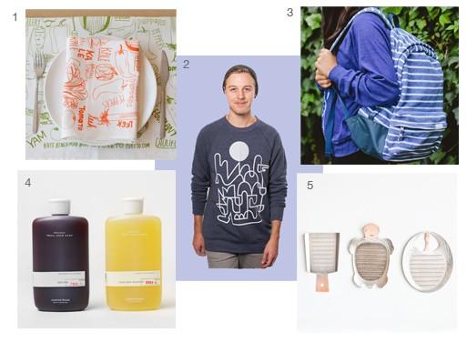Ted Vadakan and Angie Myung Gift Picks