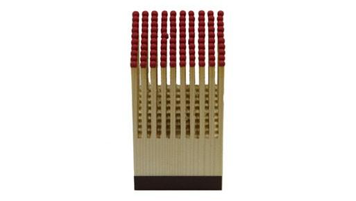 Pyreness Wood Block, 100 Matches