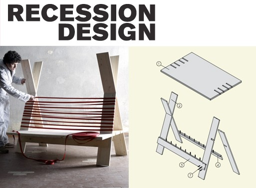 Free Furniture Plans from Recession Design