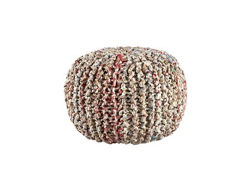Recycled Pouf