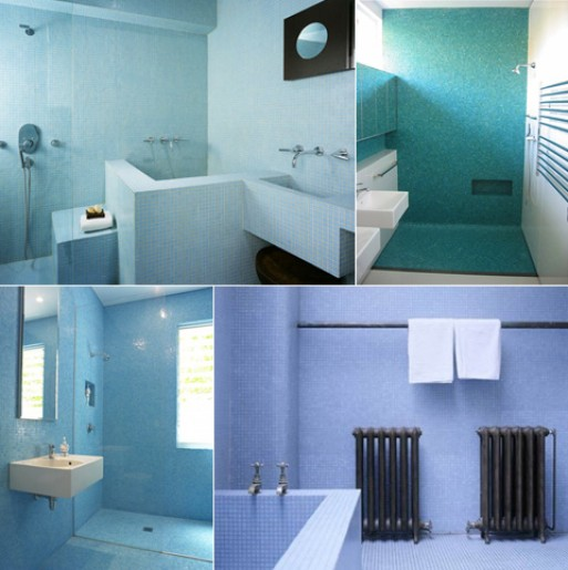 Inspiration: Small Tile Everywhere