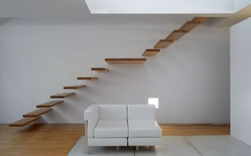 Cantilevered Stairs at Stairporn