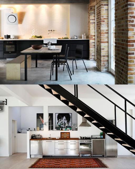 Inspiration: Kitchen cabinets