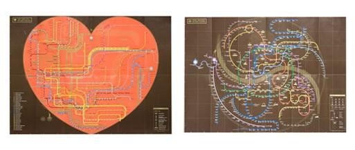 Subway Travel Folder