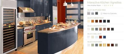 Sub-Zero Interactive Kitchen Vignettes