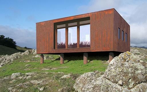 Z-Glass Tumbleweed house