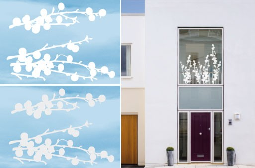 Outdoor/Indoor Cherry Twig Stickers