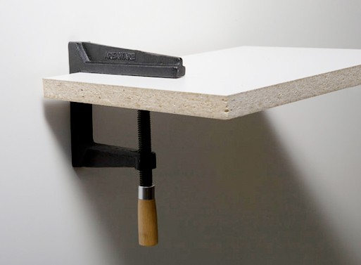 Wall Clamp by Brendan Ravenhill