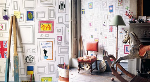 Taylor & Wood Frames Wallpaper