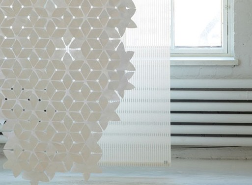 Woodnotes Flake Curtain
